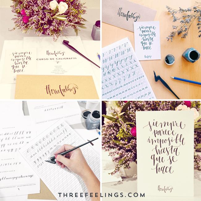 curso de caligrafia - recopilación instagram