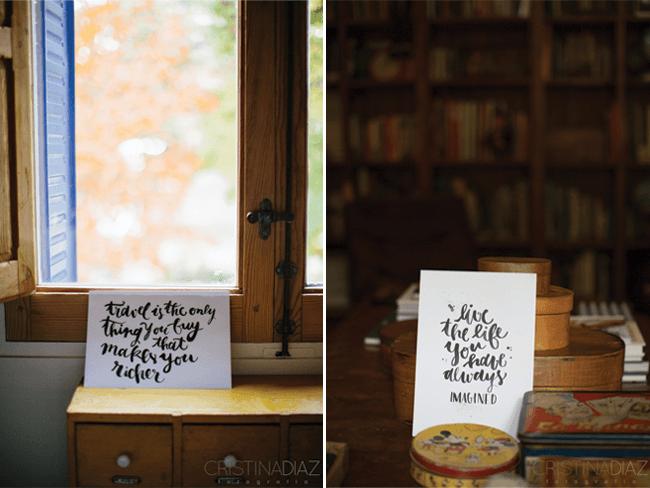 taller estilo + lettering - Postales lettering