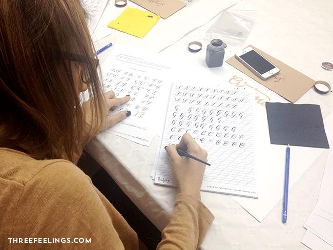 curso de caligrafia oviedo