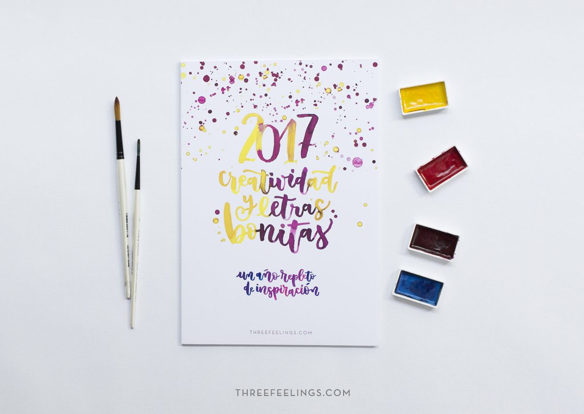 calendario-creativo-2017-three-feelings-letras-bonitas-08