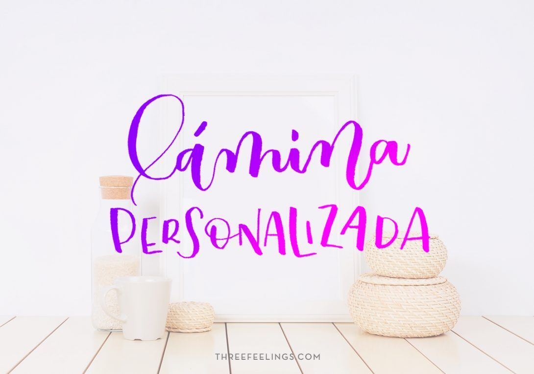 lamina-personalizada-lettering-threefeelings