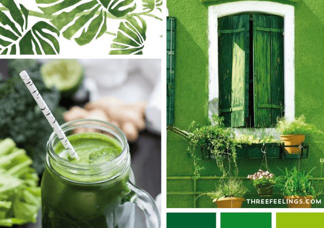 psicologia del verde