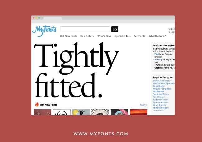 como y donde descargar tipografias - my fonts
