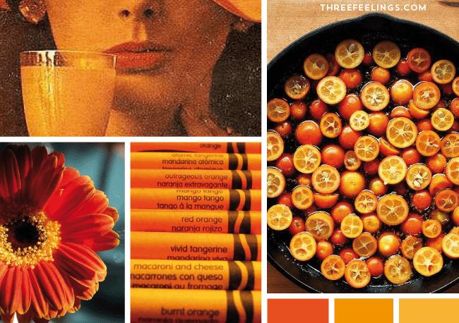 psicologia del naranja