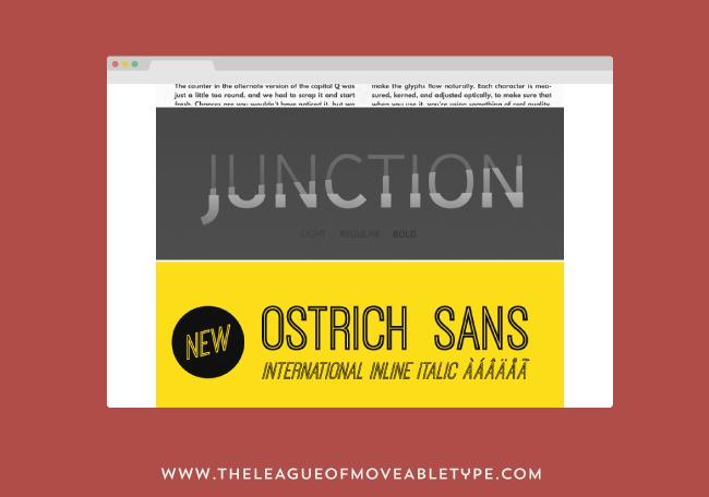 como y donde descargar tipografias - junction