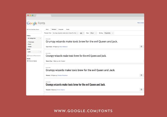 como y donde descargar tipografias - google fonts