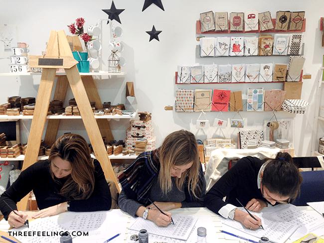 curso de caligrafia galicia