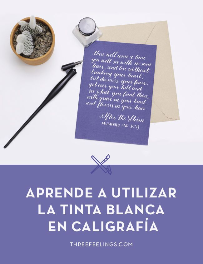 aprende-usar-tinta-blanca-caligrafia-threefeelings00