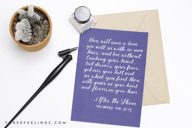 caligrafia con tinta blanca - final
