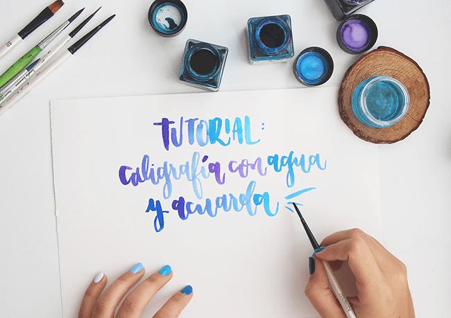 post-caligrafia-agua-acuarela-threefeelings