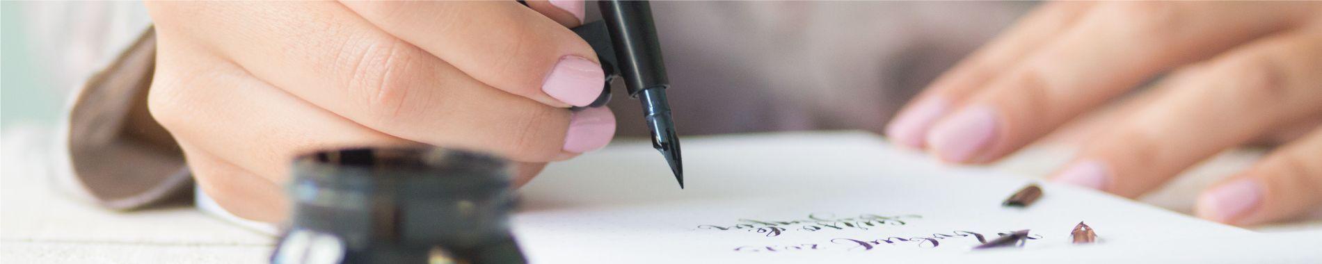 Curso de caligrafía Three Feelings