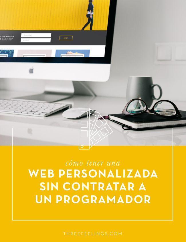 web personalizada sin contratar un programador