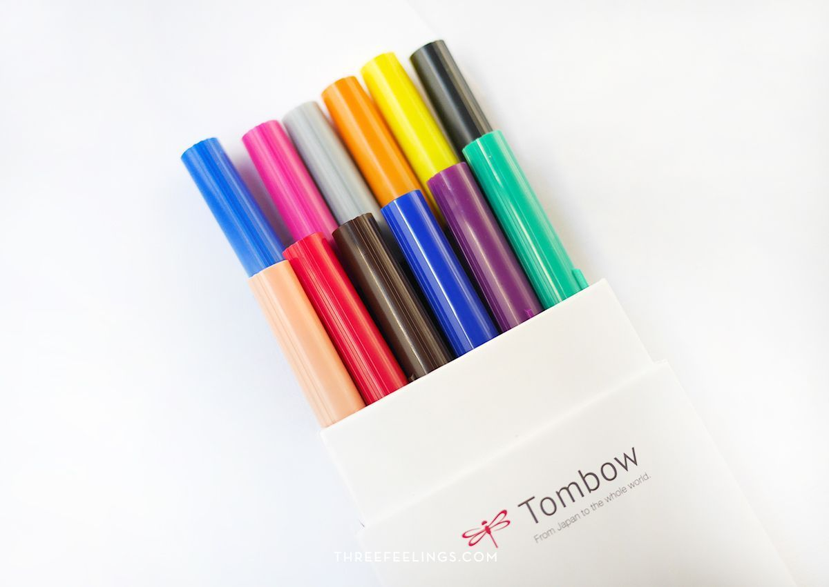 Pack 12 Tombow colores primarios