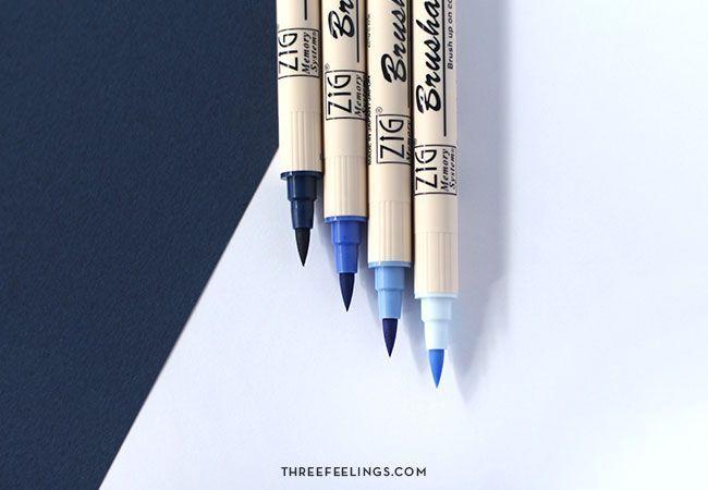 rotuladores-azules-kuretake-threefeelings-03