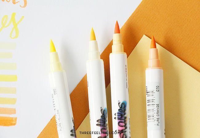 rotuladores-naranjasamarillos-kuretake-threefeelings-01