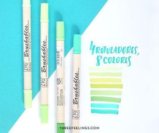 rotuladores-verdes-kuretake-threefeelings-02