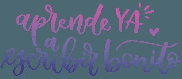 Aprende gratis a escribir bonito