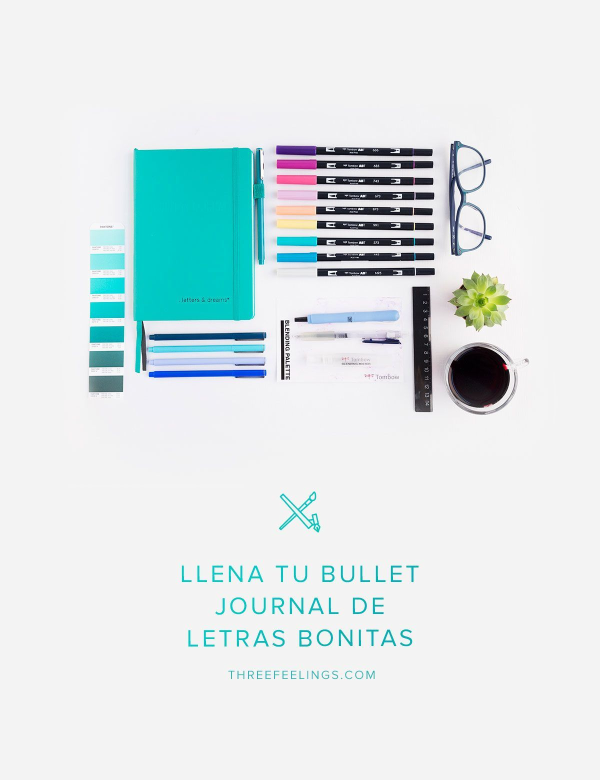 Llena Tu Bullet Journal De Letras Bonitas Y Mucho Color