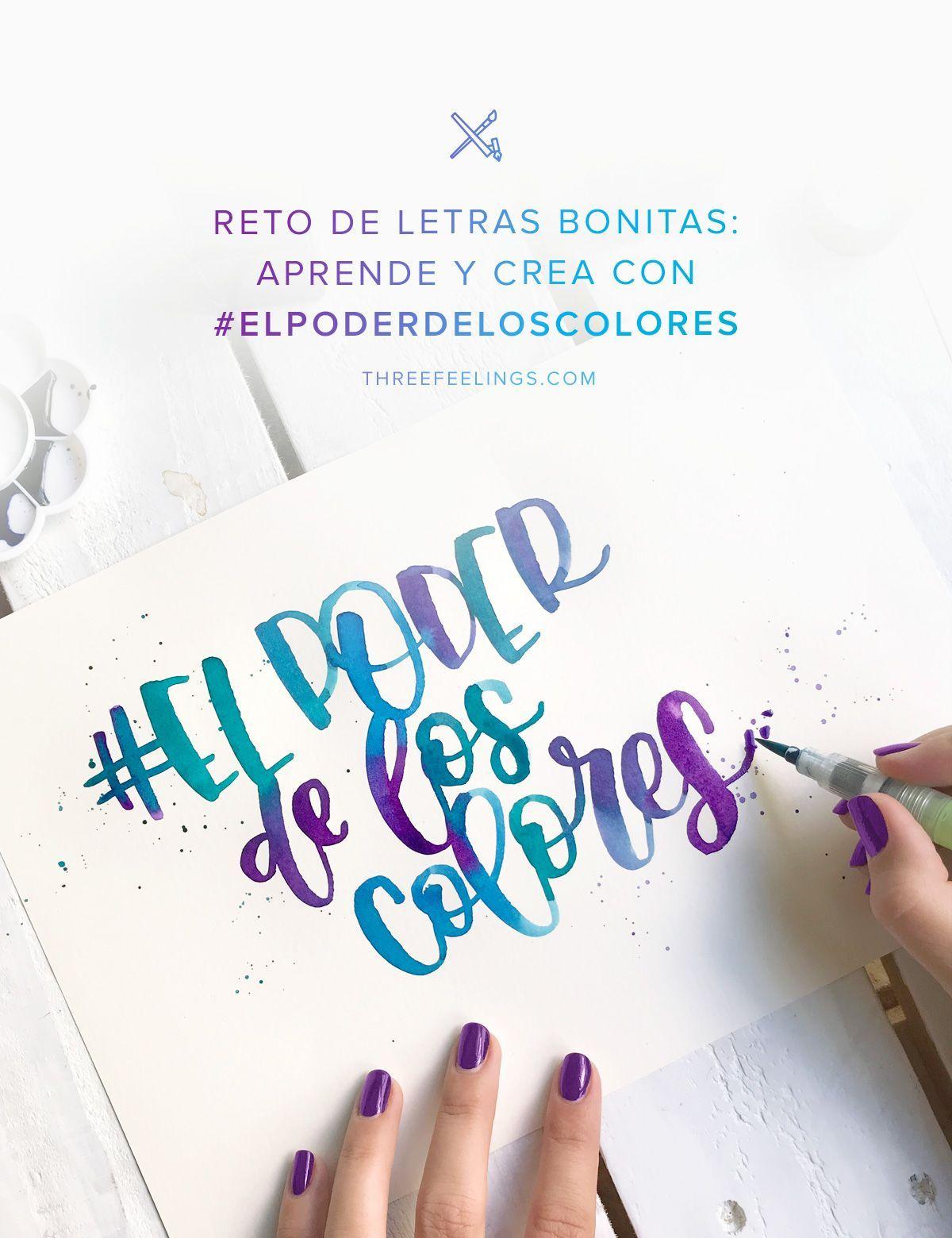Reto En Instagram Elpoderdeloscolores Con Three Feelings