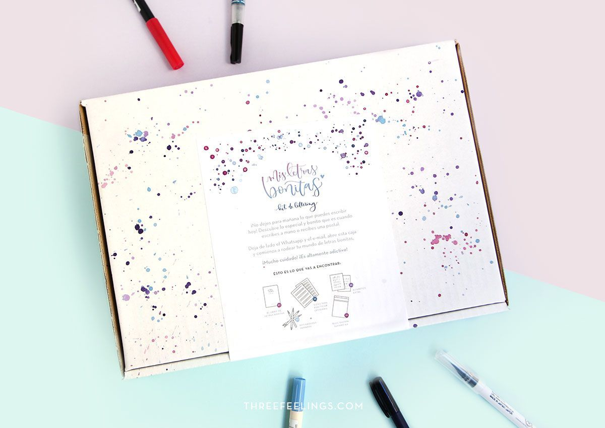 Kit de Lettering
