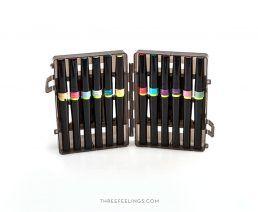 caja-rotuladores-purpurina-vintage-hues-spectrum-sparkle-threefeelings-01
