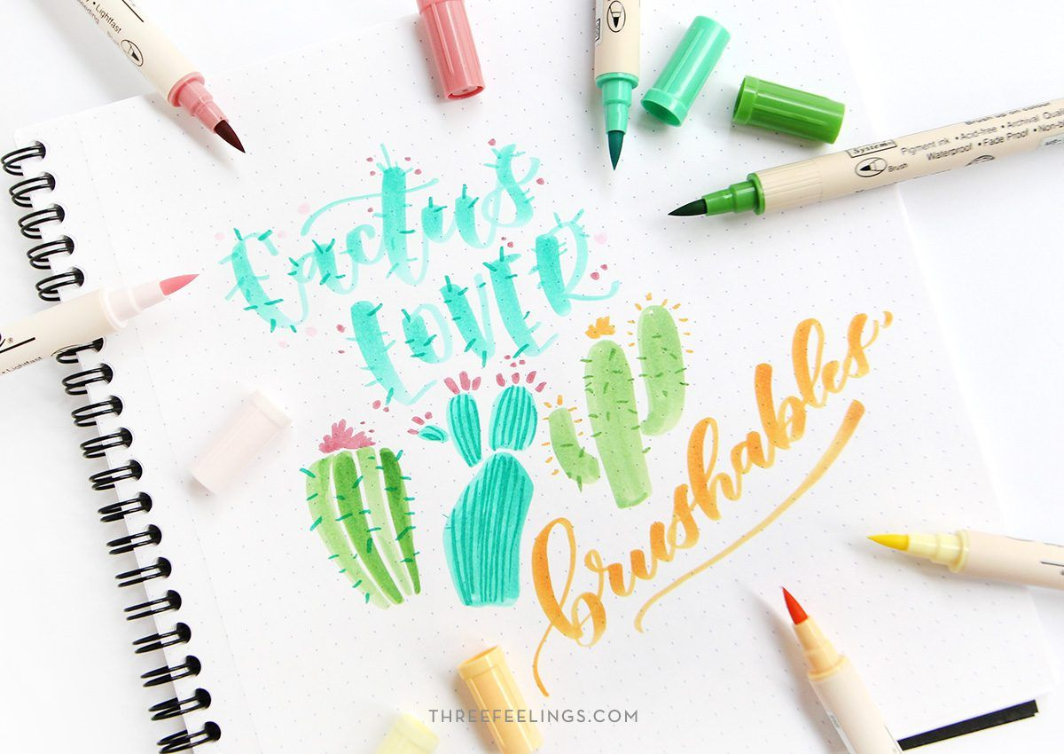 pack-rotuladores-brushables-cactuslover-colores-lettering-threefeelings-01