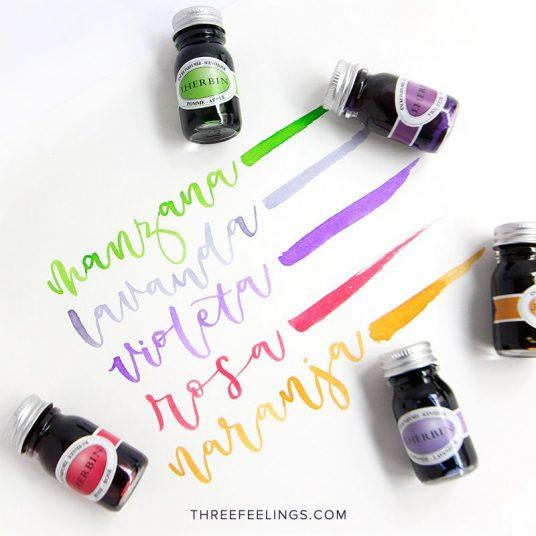 01-jherbin-caligrafia-tinta-tintero-perfumadas-lettering-threefeelings