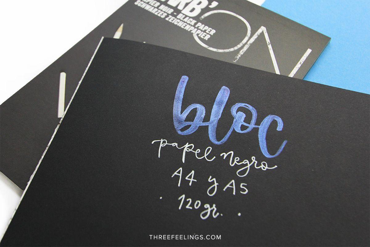 02-Bloc-Negro-Rhodia-Sin-Anillas-lettering-threefeelings
