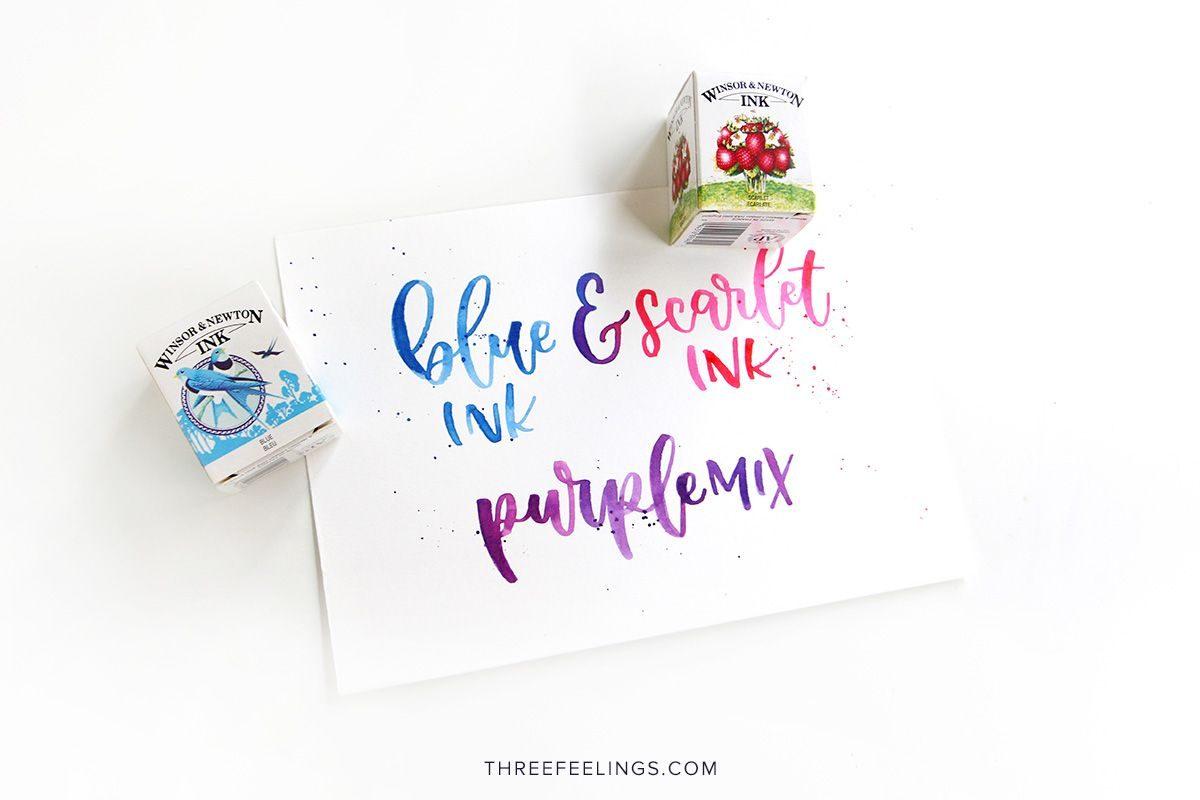 06-tintas-azul-escarlata-winsor-newton-lettering-threefeeelings