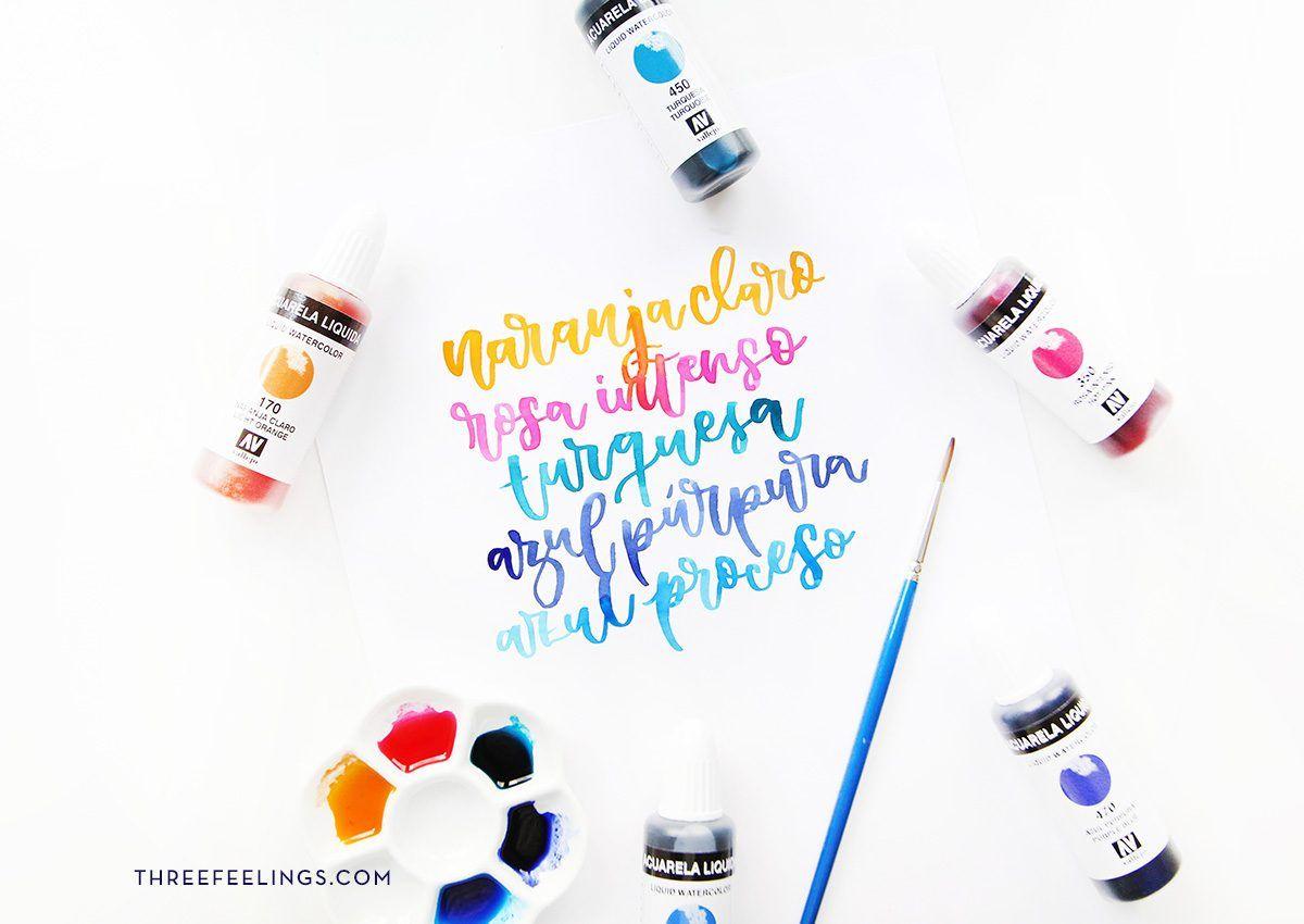 1-acuarela-liquida-caligrafia-lettering-vallejo-threefeelings