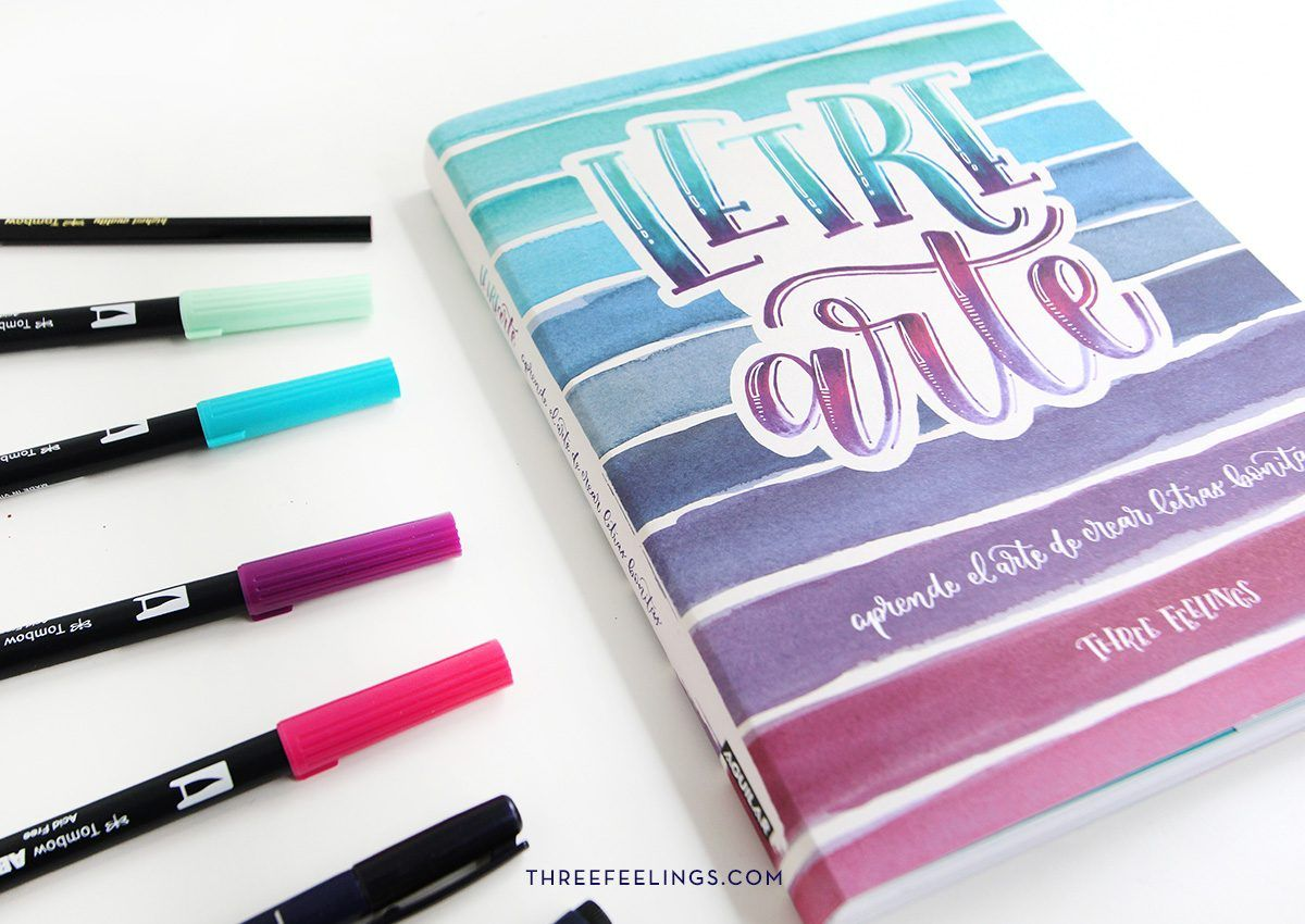 10-pack-libro-letrearte-threefeelings-tombow-escribe-bonito