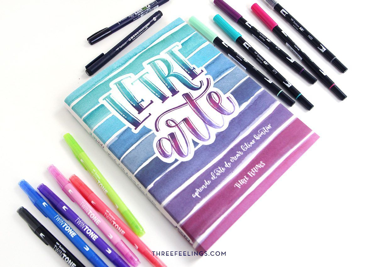 15-pack-libro-letrearte-threefeelings-tombow-escribe-bonito