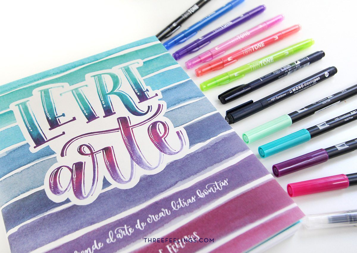 18-pack-libro-letrearte-threefeelings-tombow-escribe-bonito