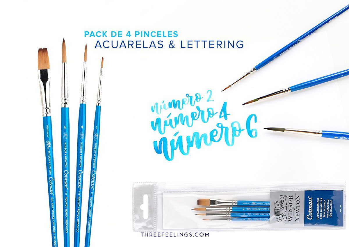 2-pincel-caligrafia-lettering-sintetico-cotman-winsornewton-threefeelings
