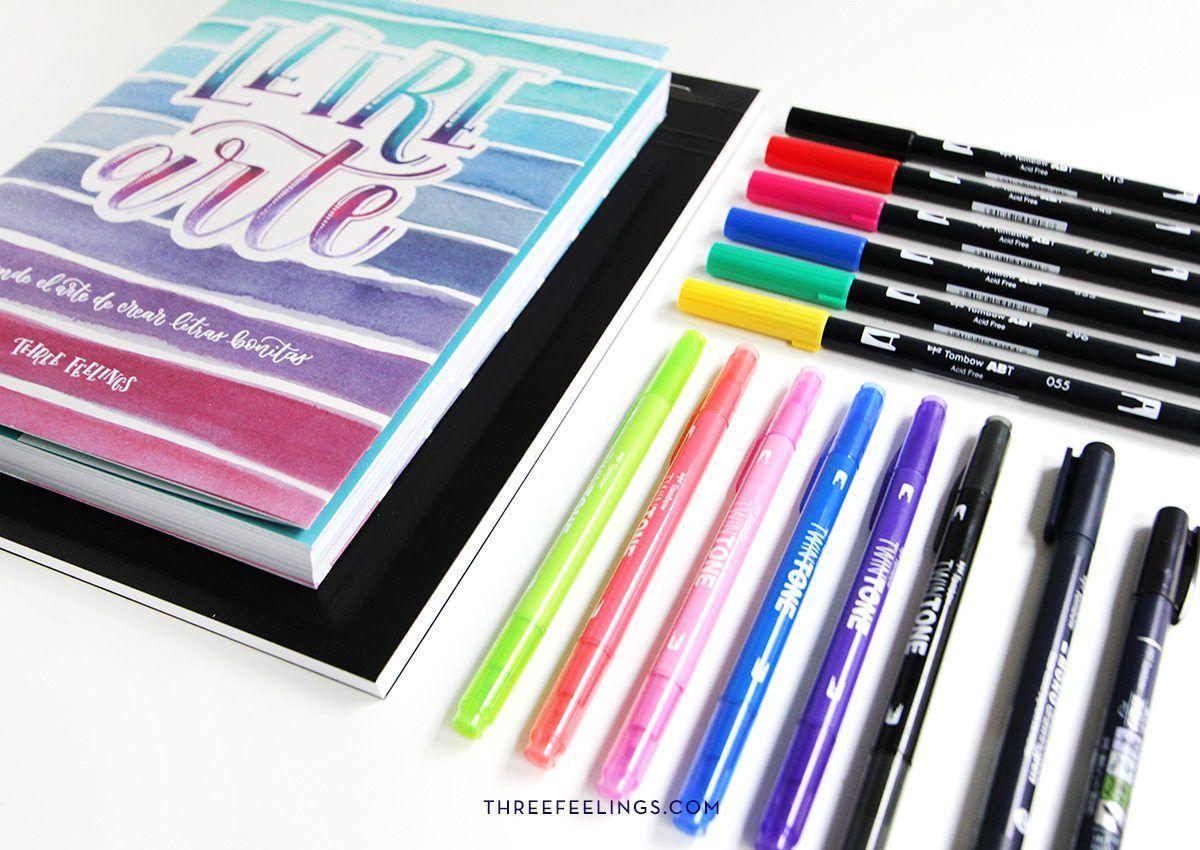 36-pack-libro-letrearte-threefeelings-tombow-escribe-bonito