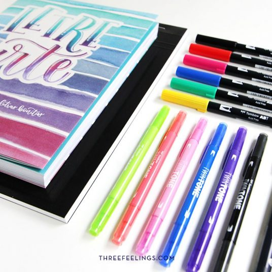 36-pack-libro-letrearte-threefeelings-tombow-escribe-bonito