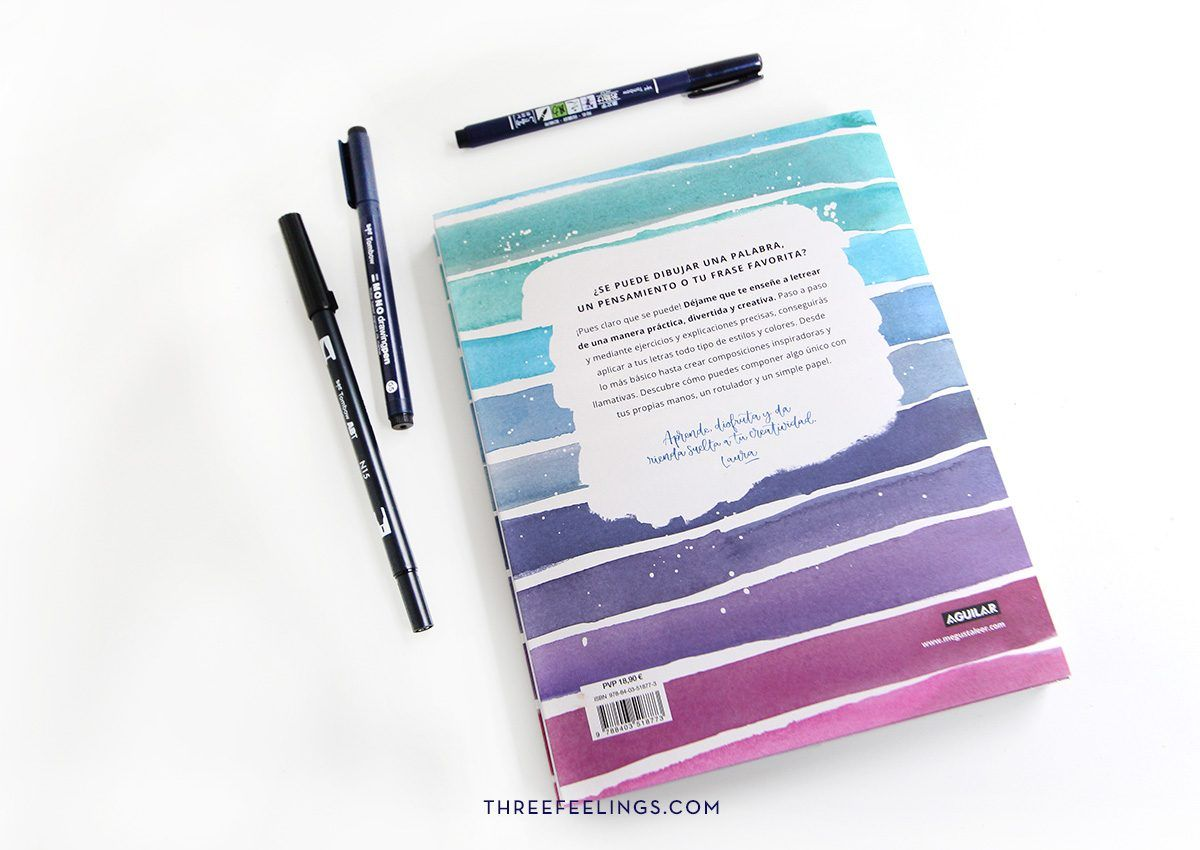4-pack-libro-letrearte-threefeelings-tombow-escribe-bonito