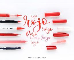 01-pack-rotuladores-monocromaticos-lettering-threefeelings-rojo