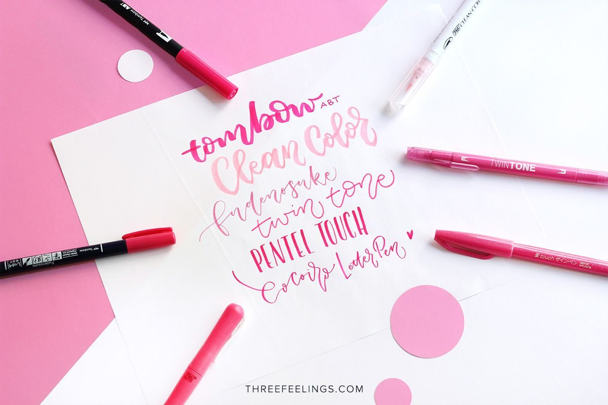 01-pack-rotuladores-monocromaticos-lettering-threefeelings-rosa