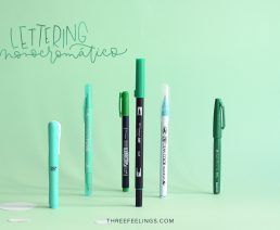 01-pack-rotuladores-monocromaticos-lettering-threefeelings-verde