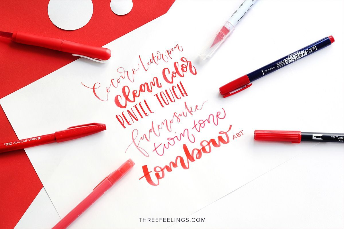 02-pack-rotuladores-monocromaticos-lettering-threefeelings-rojo
