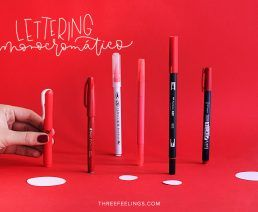 03-pack-rotuladores-monocromaticos-lettering-threefeelings-rojo