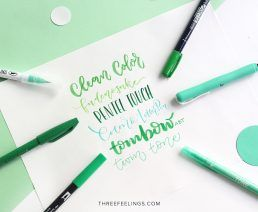 033-pack-rotuladores-monocromaticos-lettering-threefeelings-verde
