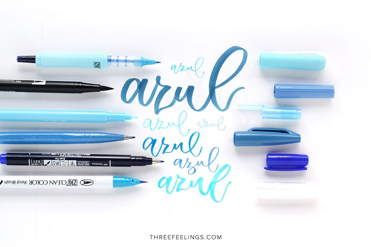 01-pack-rotuladores-monocromaticos-lettering-threefeelings-azul