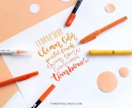 03-pack-rotuladores-monocromaticos-lettering-threefeelings-naranja
