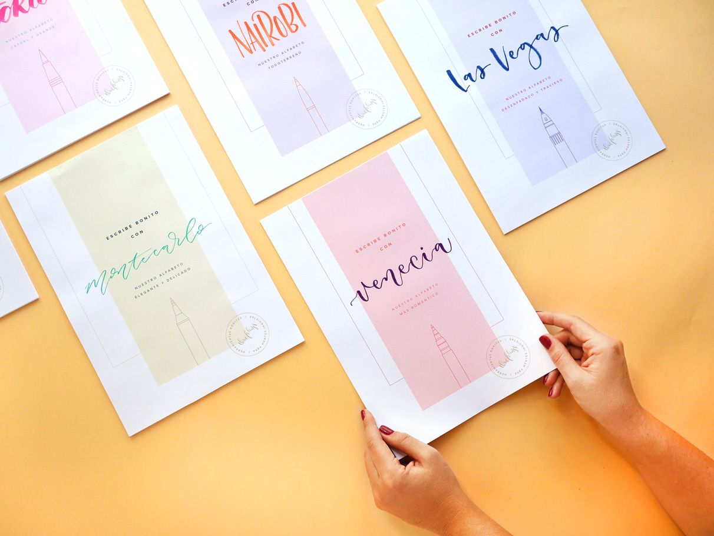 Alfabetos para escribir bonito