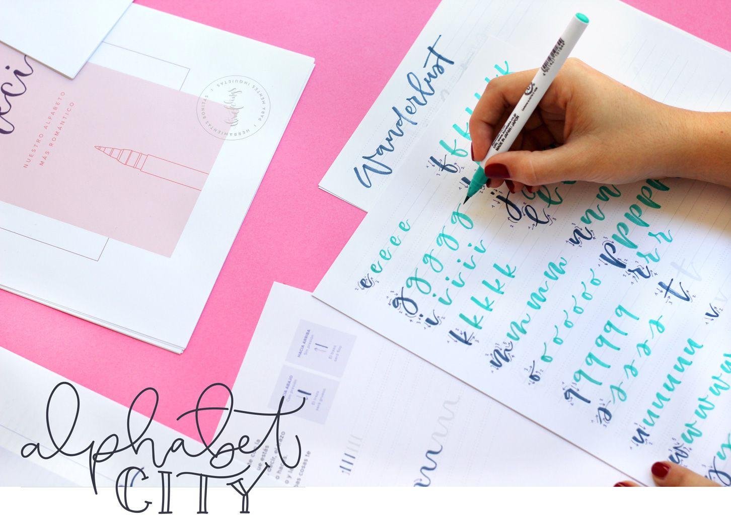 Alfabetos descargables para Lettering