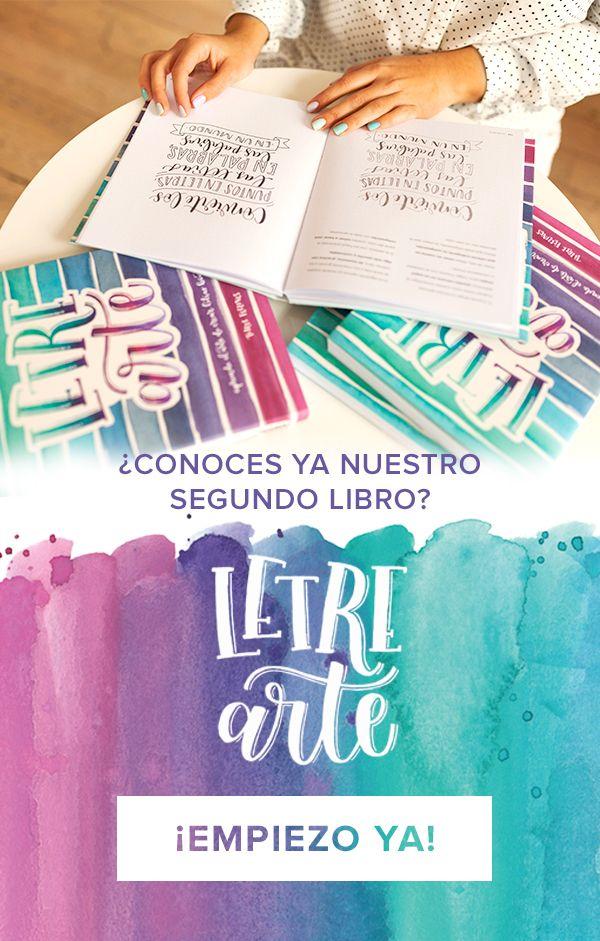 Libro de Lettering Letrearte